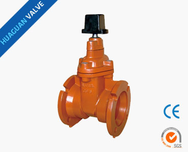Z45X AWWA Resilient seated gate valves NRS MJ+MJ / FL+MJ 200/250PSI